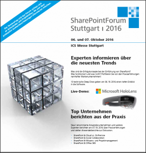 Cover_Flyer_SharePointForum2016
