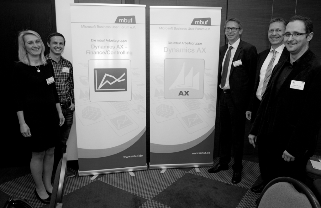 Die mbuf Arbeitsgruppen Dynamics AX und Dynamics AX – Finance/Controlling