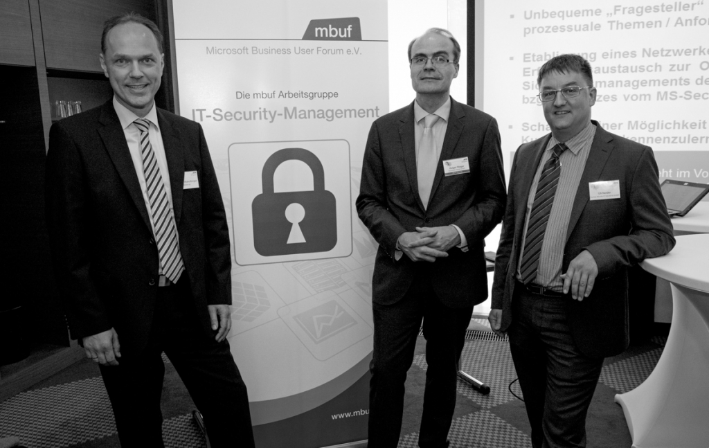 Die mbuf Arbeitsgruppe IT-Security